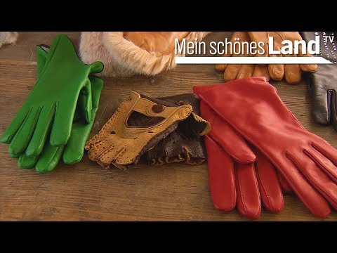 Maßgeschneiderte Handschuhe - handgemacht aus Leder