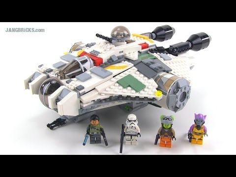 LEGO Star Wars Rebels 75053 The Ghost review!