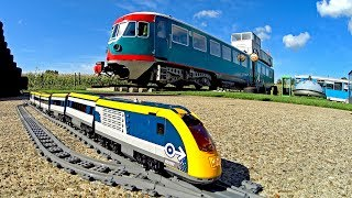 Sleep in a Train - Lego Train TRIXBRIX Layout at Controversy Inn