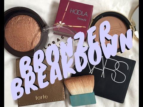 Bronzer Breakdown! 5 Best Bronzers Review & Swatches! | Cassandra Bankson