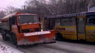Снегопад в Киеве 4 февраля 2012 (эпизод 2)