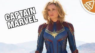 Captain Marvel First Official Photos Breakdown! (Nerdist News w/ Jessica Chobot)