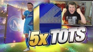 😱🔥 5x TOTS!!! MÓJ OSTATNI PACK OPENING?! 🔥😱 FIFA 18