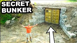 WE BUILT AN UNDERGROUND BUNKER! Part 1