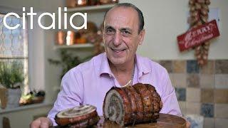 Gennaro Contaldo's Christmas Porchetta Recipe | Citalia