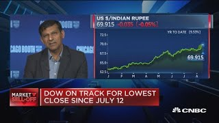 Former RBI Governor Rajan on emerging markets during a currency crisis