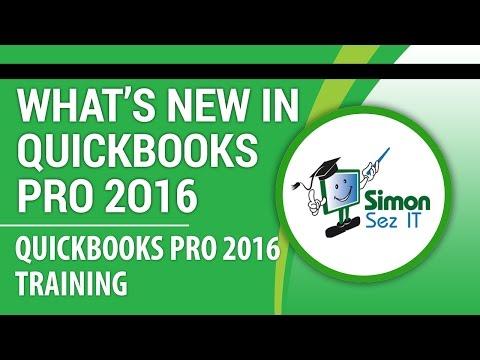 QuickBooks Pro 2016 Tutorial: What's New in QuickBooks Pro 2016