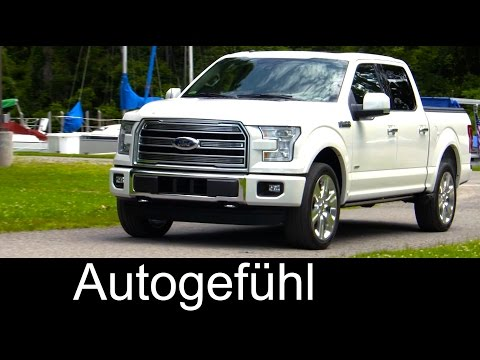 2016 Ford F-150 Limited Exterior/Interior - Autogefühl