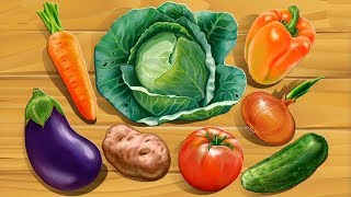 МУЛЬТФИЛЬМ ПРО ОВОЩИ. Развитие ребёнка. Учим овощи с детьми