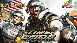Murica's Burfday! Time Crisis: Razing Storm! - YoVideogames