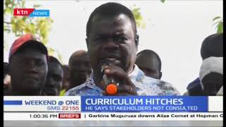 Activist Okiya Omtata threatens to sue over over the roll out of the new education curriculum