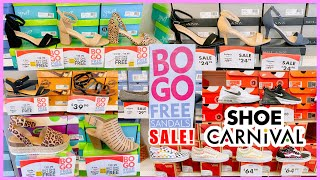 SHOE CARNIVAL WOMEN'S SHOES👠‼️ SALE & BUY ONE GET ONE FREE SANDAL❤︎ STORE WALKTHROUGH SHOP WITH ME