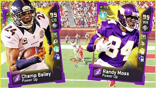 99 Ultimate Legends Are Here! Randy Moss & Champ Bailey Are Unfair! (Madden 20)