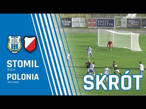 Skrót meczu CLJ U-19: Stomil Olsztyn - Polonia Warszawa 0:4