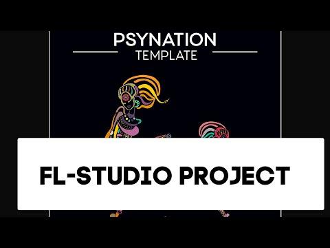 Psytrance - Psynation FL-Studio Template, Project als (Progressive)