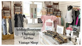 Shop Tour And Adding Boutique Clothing