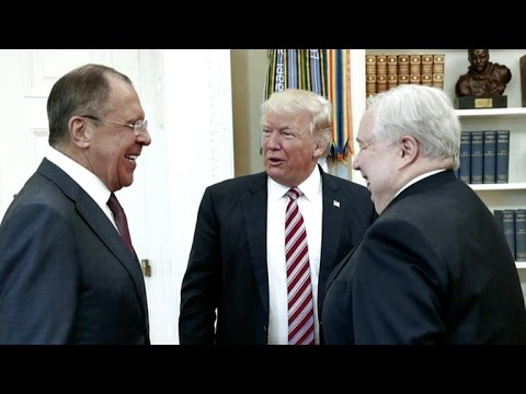 President Trump may have divulged classified intelligence during meeting with Russian officials