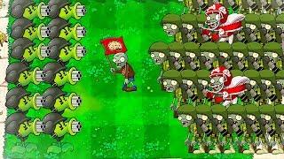 INSANE HACK! ONE SHOT PLANTS?!?!   Plants VS Zombies 2