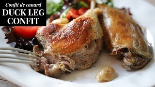 How To Make Duck Leg Confit at Home (Christmas dinner ideas)