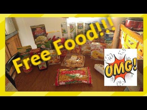 Food Pantry Haul!!!!