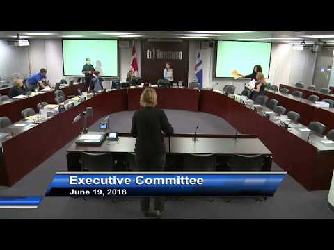 Executive Committee - June 19, 2018 - Part 1 of 2
