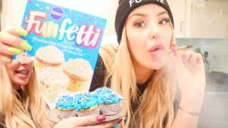 get baked with me... i mean bake with me. what? (get it?)