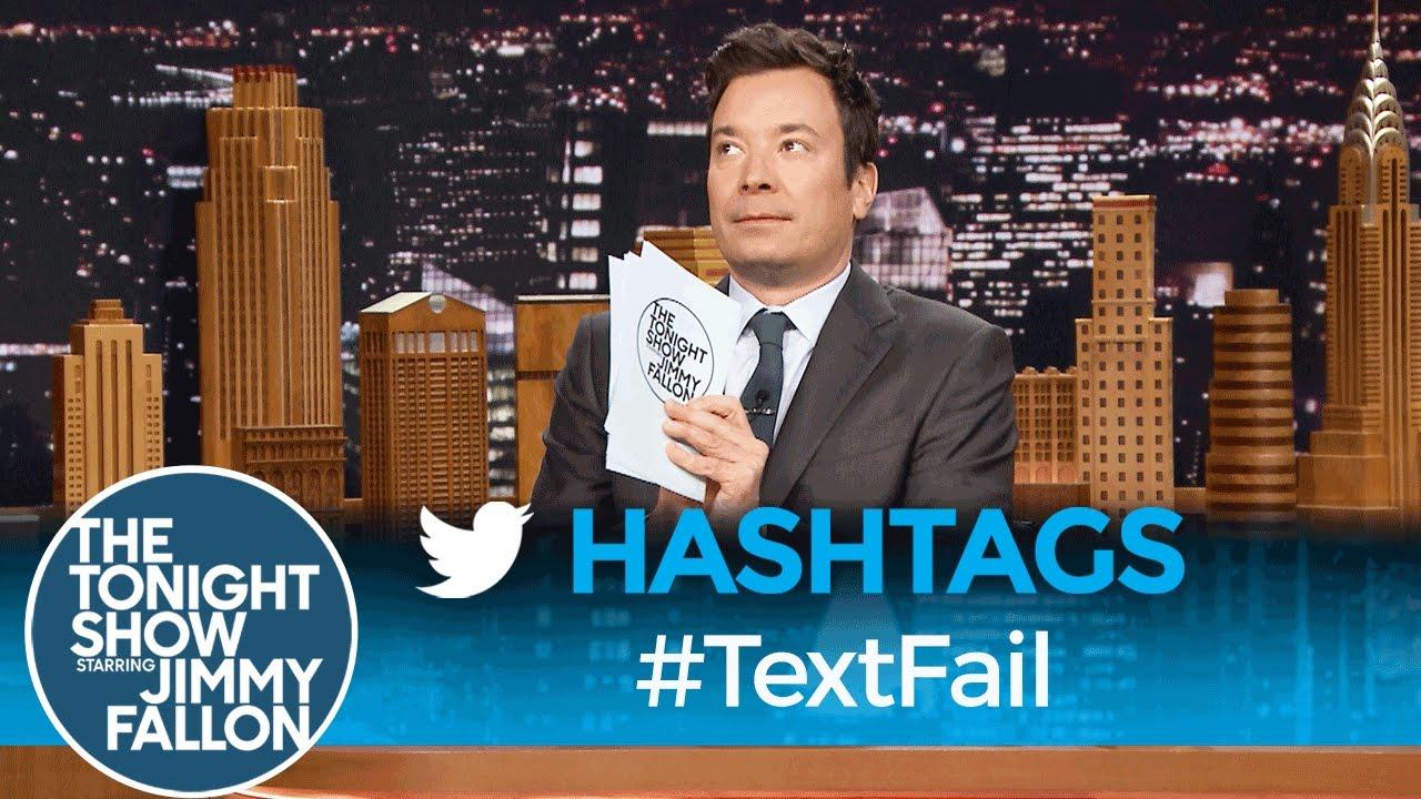Hashtags: #TextFail thumbnail