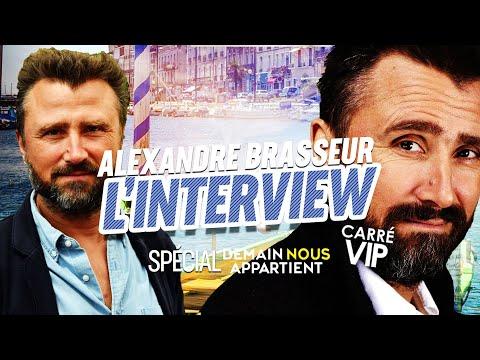 Alexandre Brasseur (Interview) Qui est vraiment l'interprète d'Alex Bertrand (DNA) ?