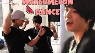 F(x) Amber And Danny's Watermelon Dance