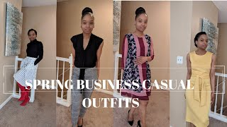 SPRING BUSINESS CASUAL OUTFITS|| How To Be Chic For Cheap