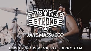 Jake Massucco Of Four Year Strong (Heroes Get Remembered   Drum Cam)ASXC