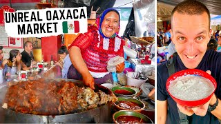 RARE MEXICAN STREET FOOD in Oaxaca+ COOKING with the LOCALS in OAXACA, MEXICO