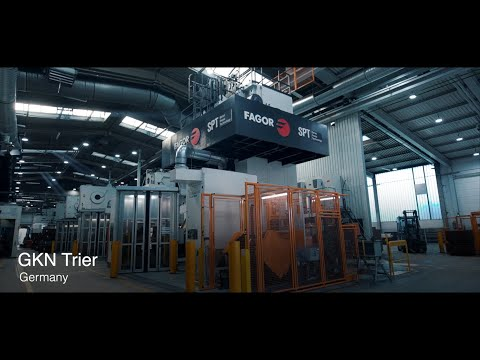 Fagor Arrasate - Automations for forging presses-