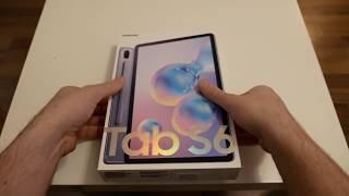 Samsung Galaxy Tab S6 Unboxing, Einrichtung und erster Eindruck