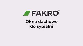 FAKRO sypialnia - okna dachowe FPP-V preSelect