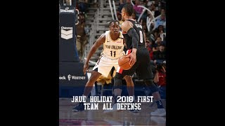 Jrue Holiday 2018 First Team All Defense Highlights