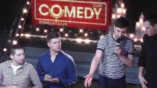 """Видео с фрегата """"Благодать"""", Camedy club 6 апреля 2013."""
