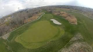 River Oaks Holes 6, 5 & 3 - Racing Drone