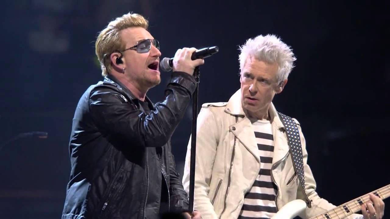 U2 - Out Of Control - Paris 12/6/15 - Pro Shot - HD - YouTube