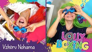 LOLLYBOXING - Vzhůru Nohama challenge