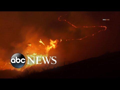 Evacuations increasing as California wildfires spread