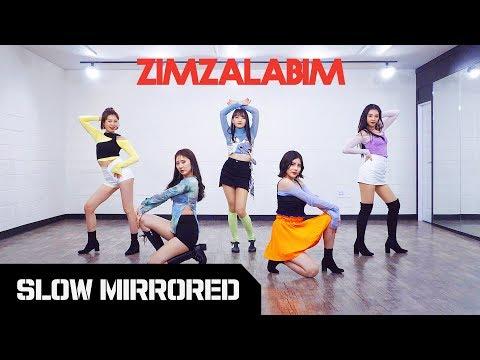 [TUTORIAL] Red Velvet '짐살라빔 (Zimzalabim)' | 안무 느리게 거울모드 SLOW MIRRORED