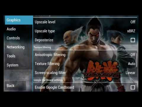 Tekken 6 PPSSPP v 1 6 3 best settings and tips specially for dual