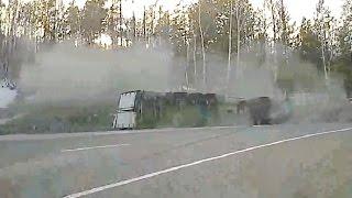 Аварии грузовиков в апреле 2016