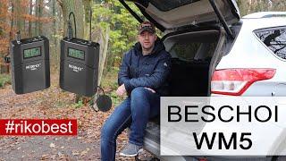 Beschoi UHF Wireless Lavalier WM5 Mikrofon - Unboxing & Review - Riko Best