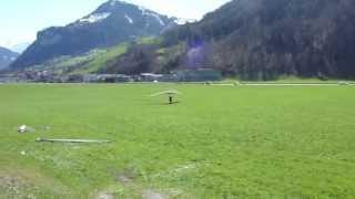 preview picture of video 'Delta Landung Z9 Landeplatz Büren Stans-Oberdorf'