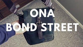 ONA Bond Street Camera Bag In Camo