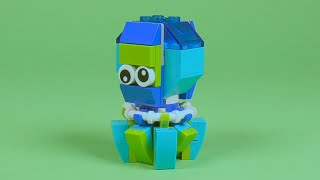 LEGO Octopus Building Instructions - LEGO Monthly Mini Build How To