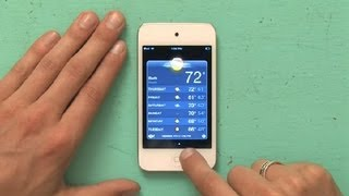 How to Delete a City on Weather From an iPod Touch : iPod & iPod Touch Tips