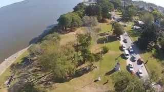 preview picture of video '2da. salida a Chascomus con el grupo de Bajaj Rouser 200NS (ver en HD)'